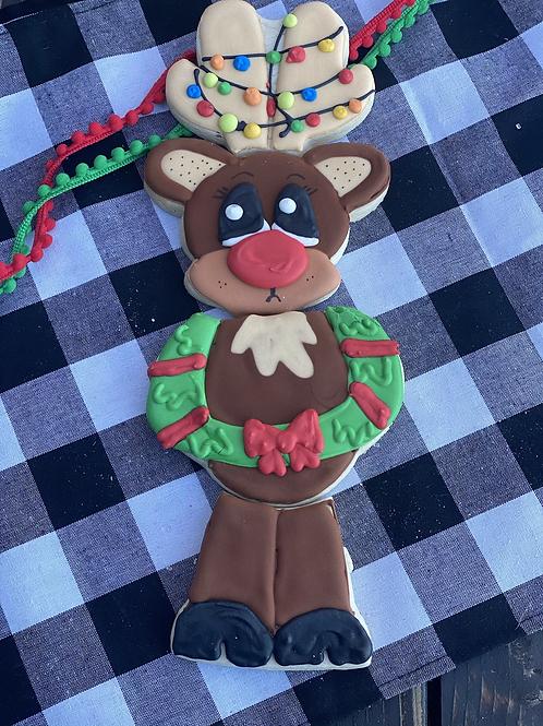 Happy Reindeer cookie set