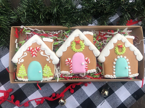 Gingerbread House 3pc cookie set