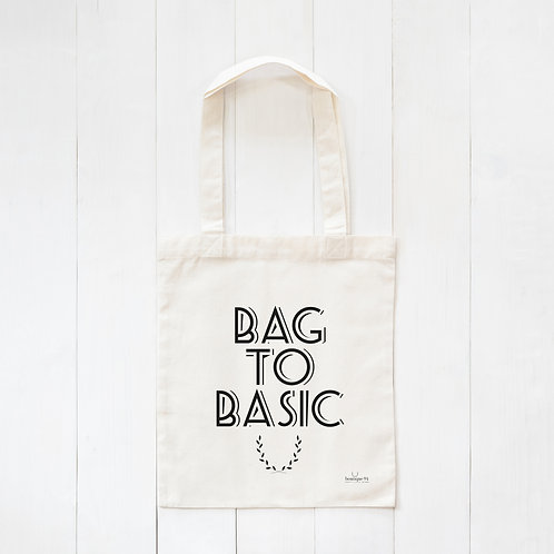 Tasje 'Bag to Basic'
