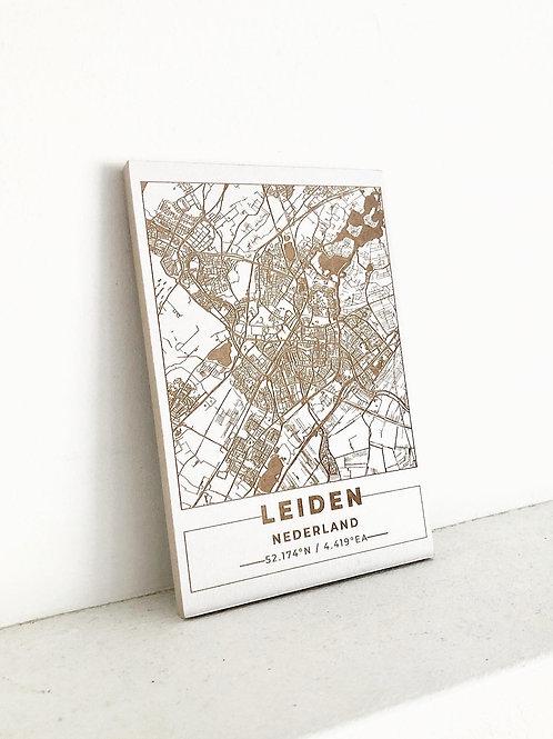 Stadskaart Leiden