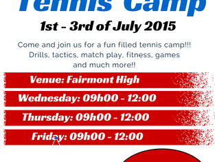 Holiday Tennis Camps