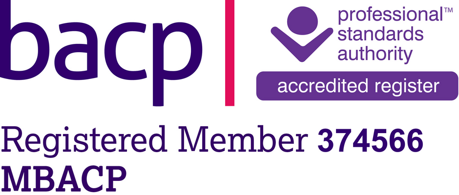 Registered member of the British Association for Counselling and Psychotherapy
