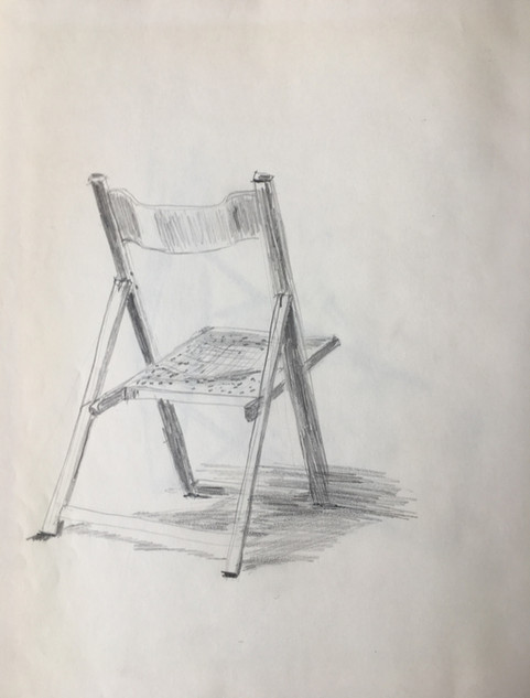 Pencil, on paper A4