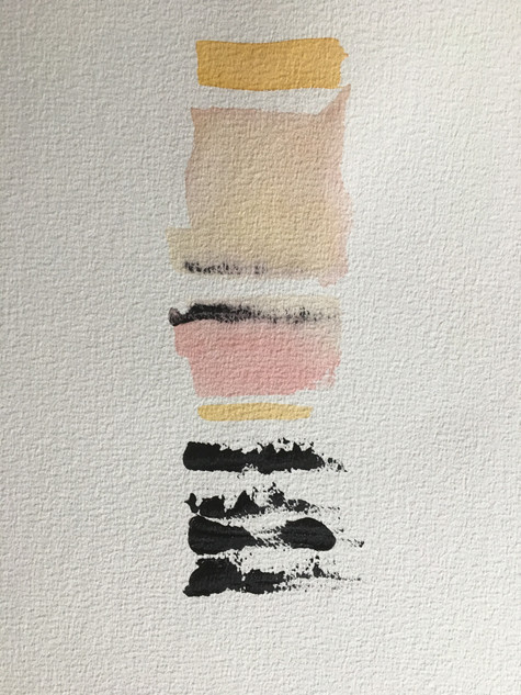"""Watercolor, on paper 12"""" x 9"""""""