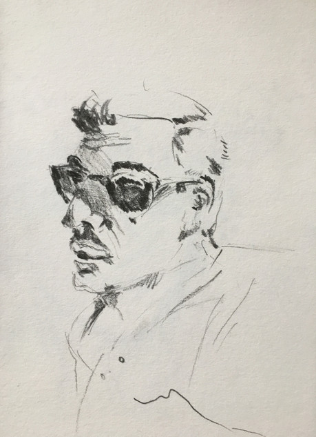 My Father, 2015 Pencil, on paper A4