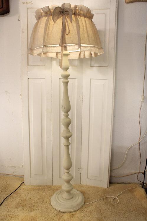 Antieke vloerlamp inclusief kap