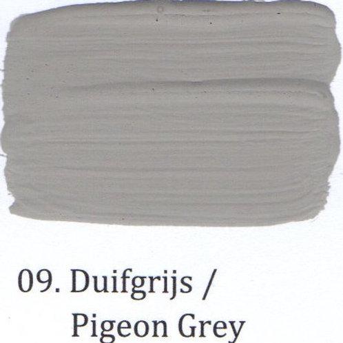 Kleur 09. Duifgrijs