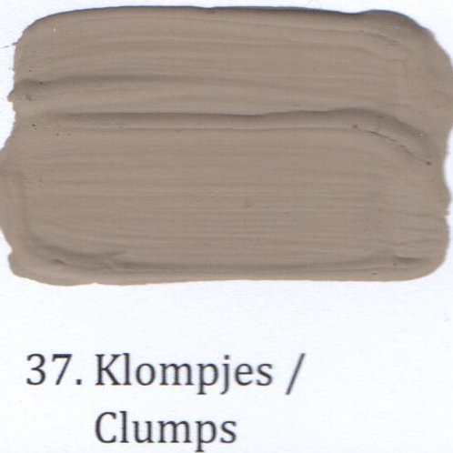 Kleur 37. Klompjes
