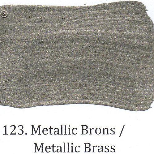 Kleur 123. Metallic Brons