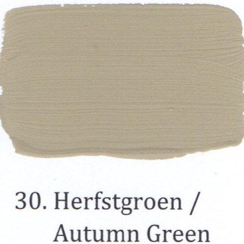 Kleur 30. Herfstgroen
