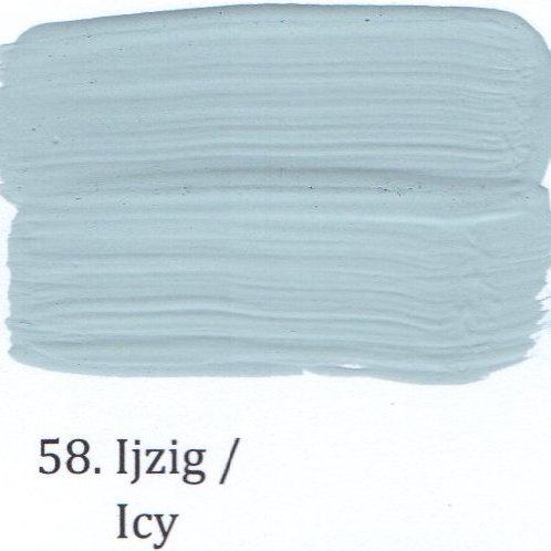 Kleur 58. Ijzig