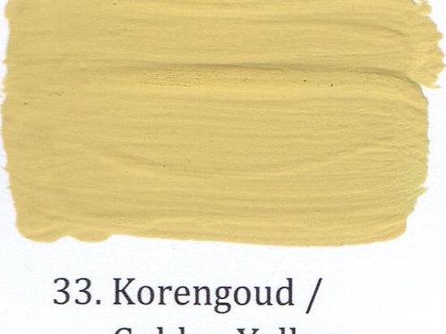Kleur 33. Korengoud