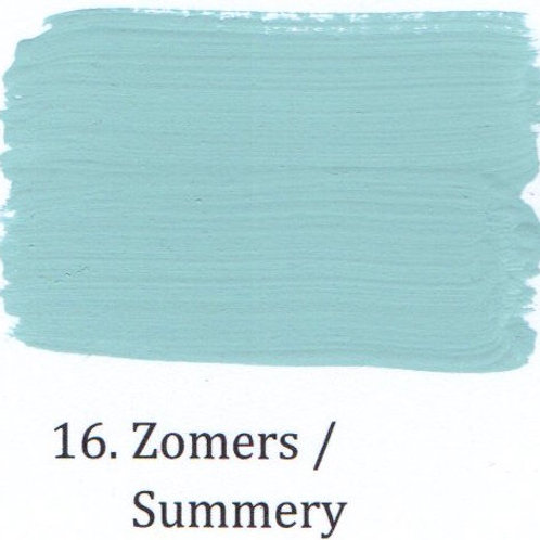 Kleur 16. Zomers