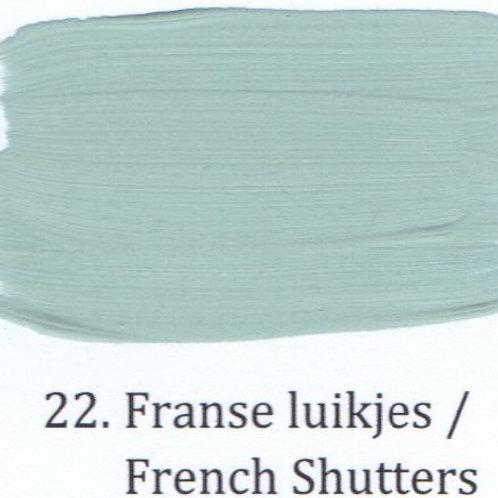 Kleur 22. Franse luikjes