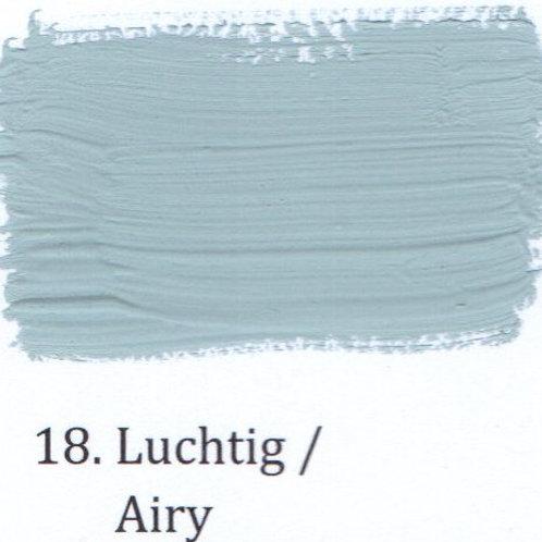 Kleur 18. Luchtig