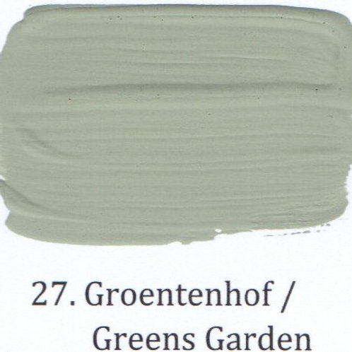 Kleur 27. Groentenhof