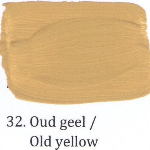 Kleur 32. Oud geel