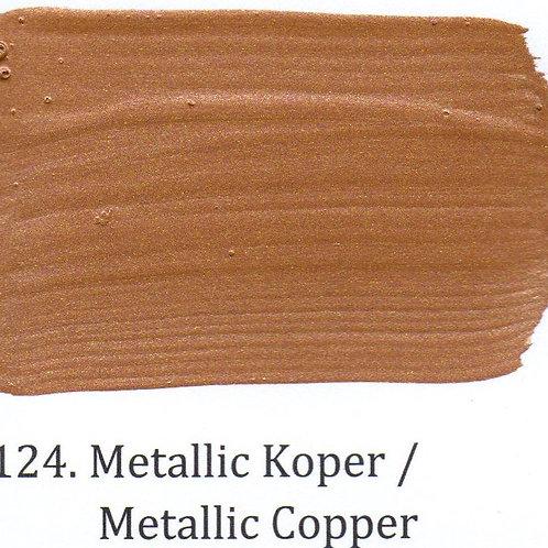 Kleur 124. Metallic Koper