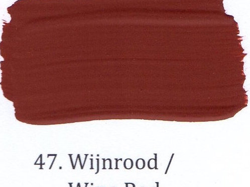 Kleur 47. Wijnrood