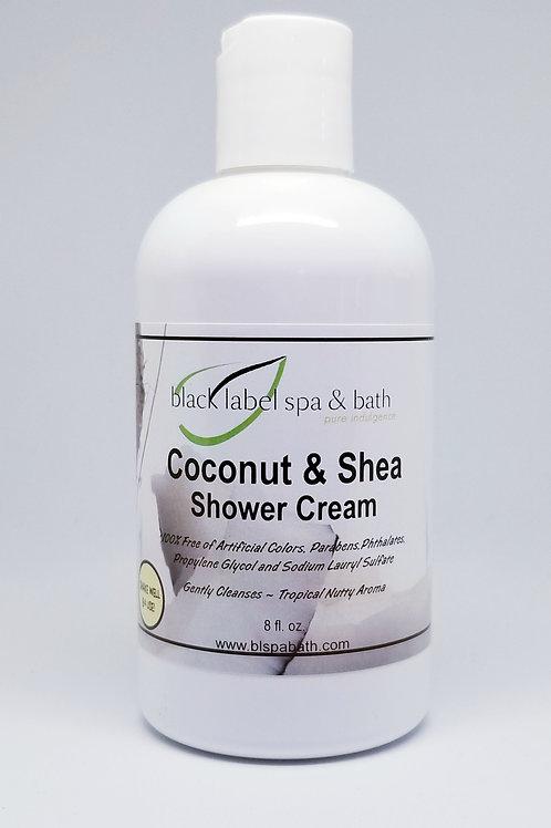 Coconut & Shea Shower Cream