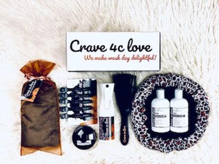 We make wash day delightful- Crave 4c Love Complete Wash Day Bundle