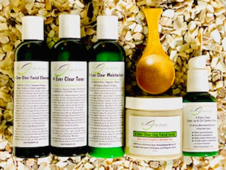 4 Ever Clear Complete Skin Care Collection- Use Coupon SAVE25