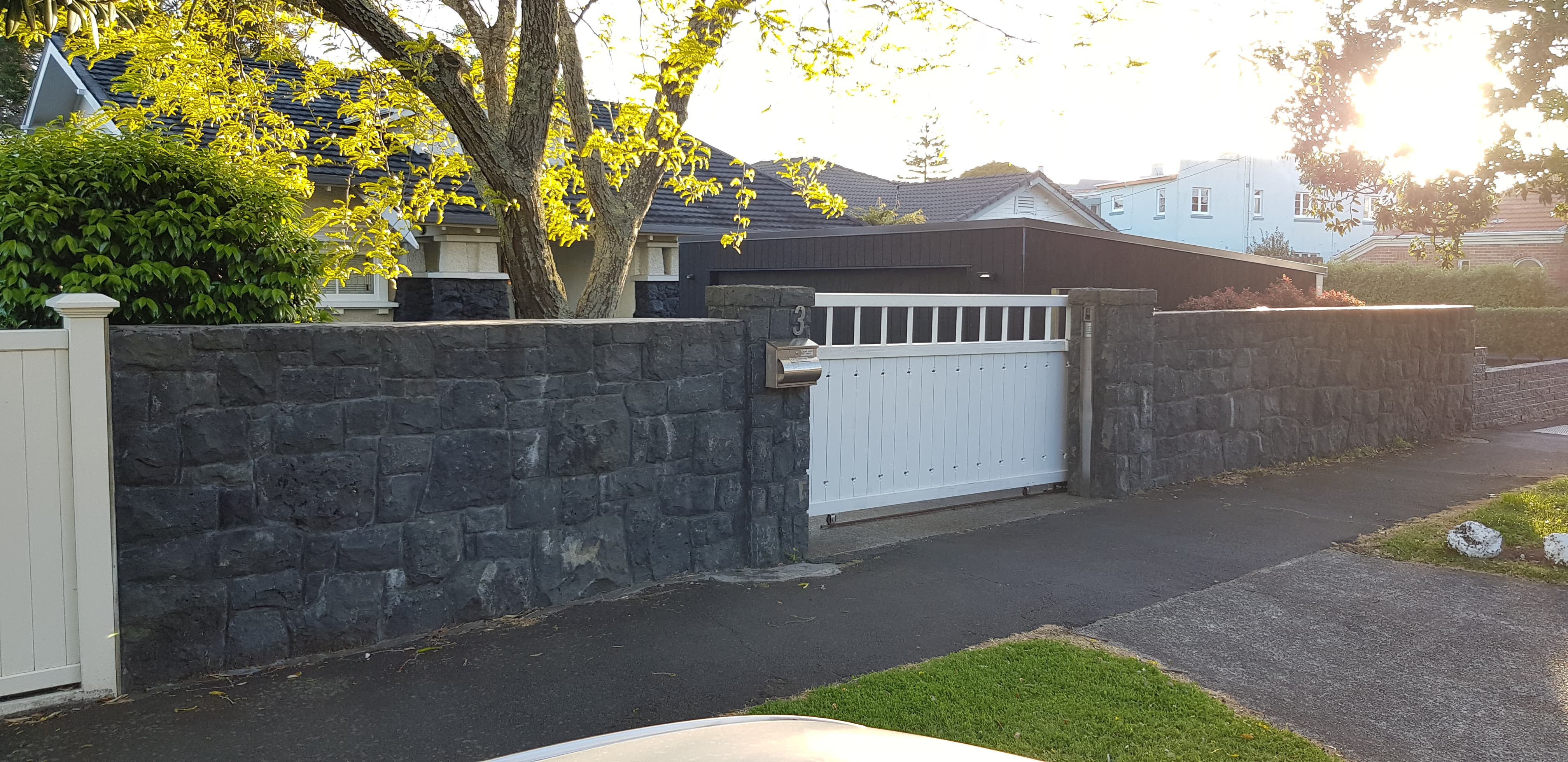 Bluestone Basalt & Pillars Mt Eden
