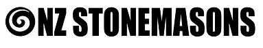 NZ Stonemasons Logo (Black text on white