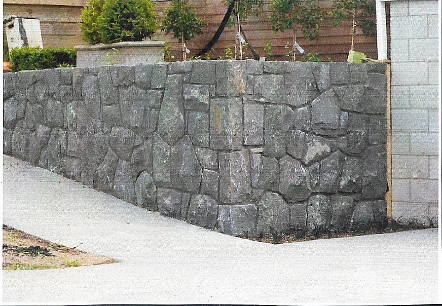 Boundary Retaining Wall, Remuera