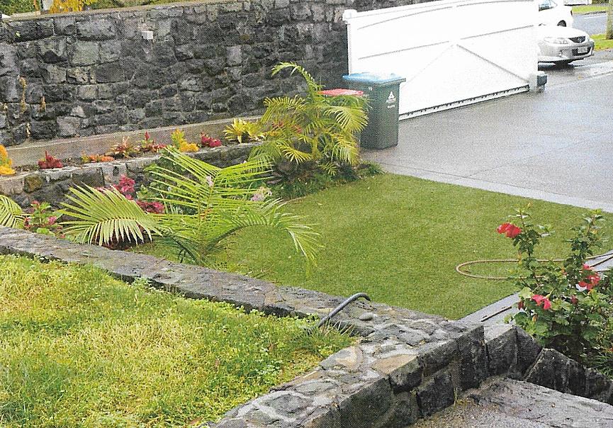 Epsom Garden Retaining Wall