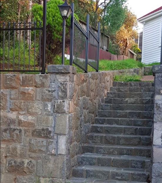 Honeycomb Basalt Stairway