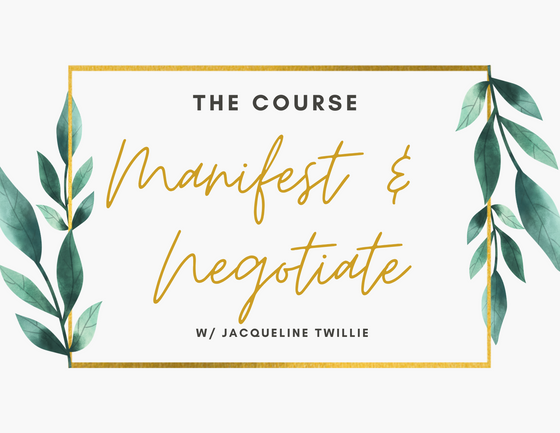 The Manifest and Negotiate Course