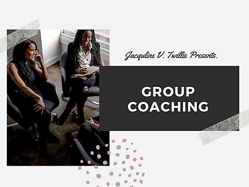 Group Coaching w_Jacquline V. Twillie Ma
