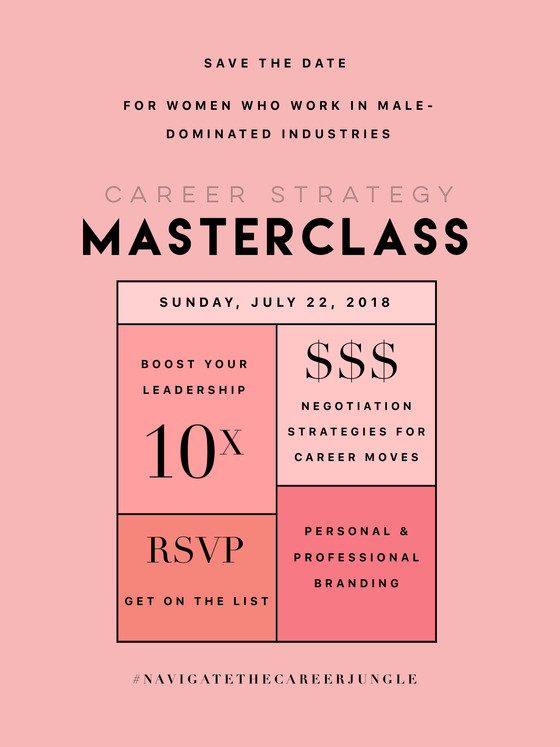 Career Strategy MasterClass in New Orleans July 22, 2018!