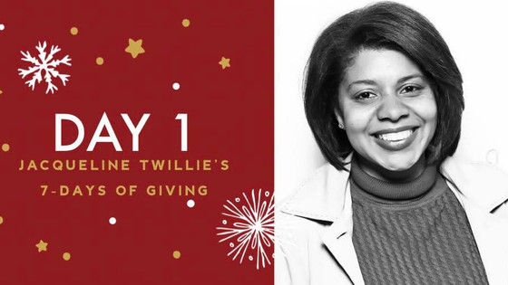 7 Days of Giving with Jacqueline Twillie