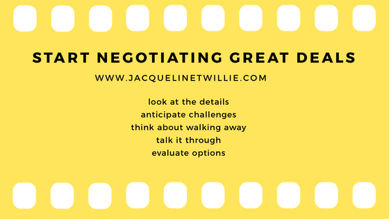 Start Negotiating Great Deals