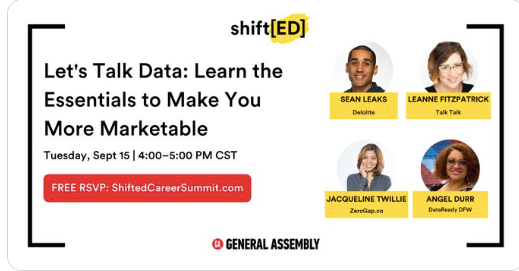 Let's Talk Data: Learn the Essentials to Make You More Marketable