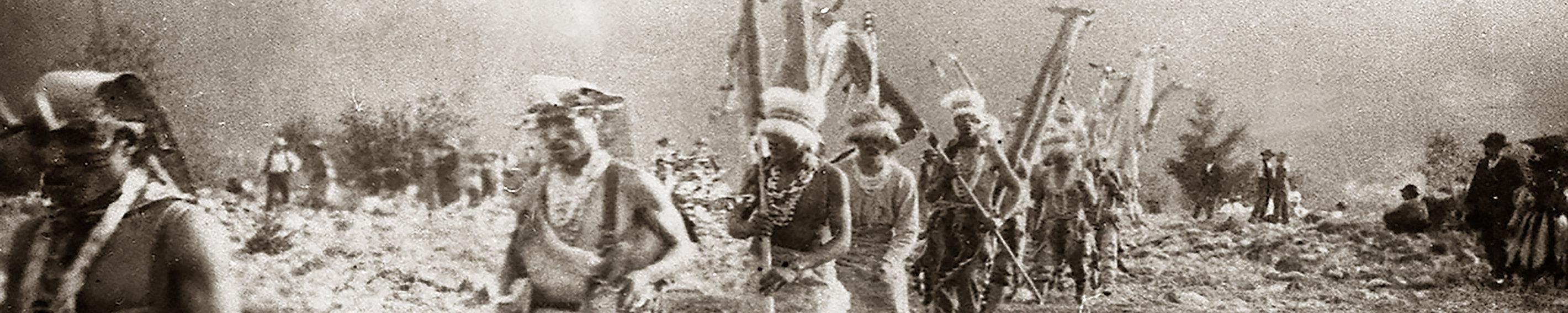 white deerskin dancers - nicholson 1923