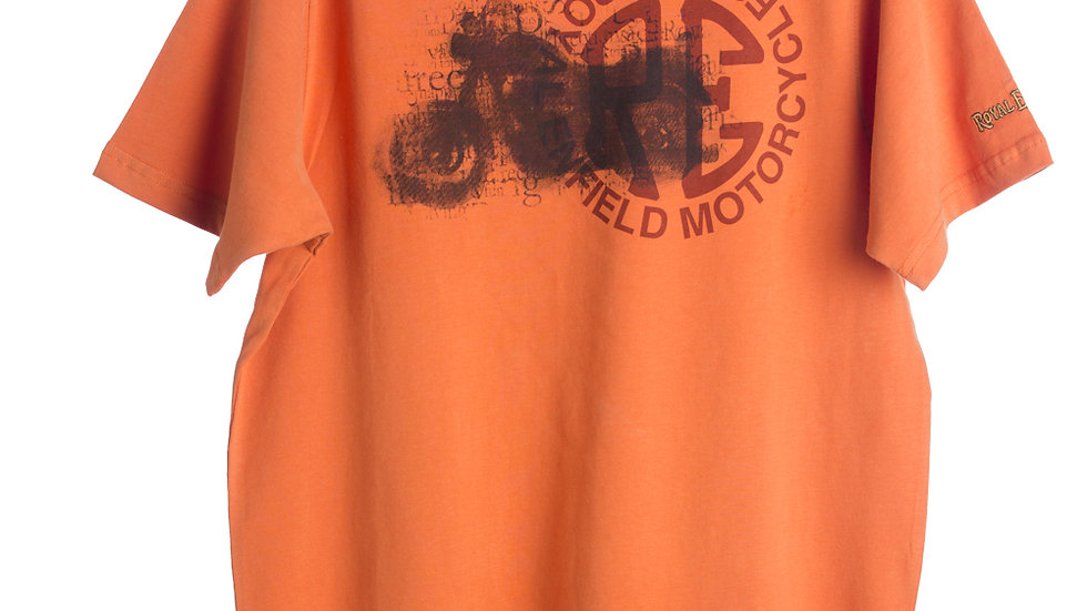 RE Bike T-Shirt Orange
