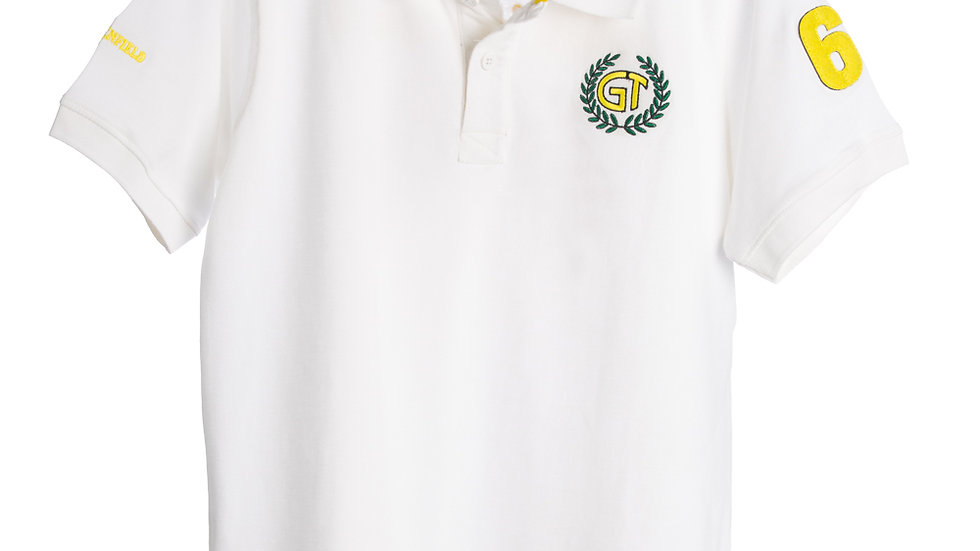 Royal Enfield GT Polo Shirt White