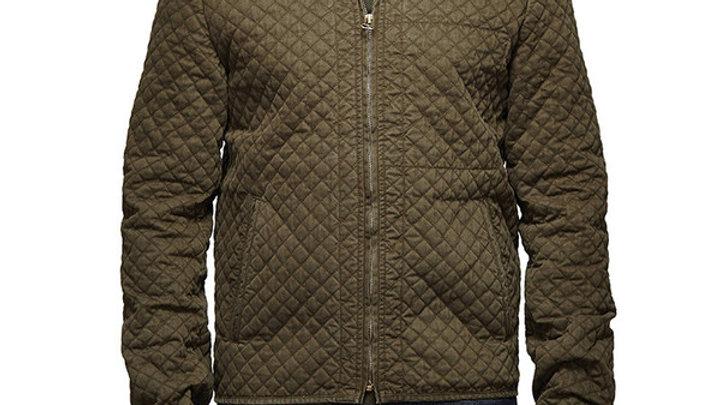 Urban Drifter Denim & Twill Jacket Olive
