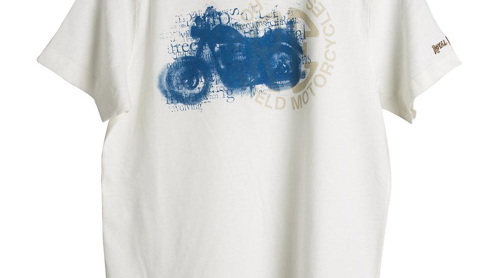 RE Bike T-Shirt White