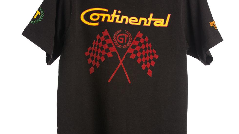 GT Flag T-Shirt Black