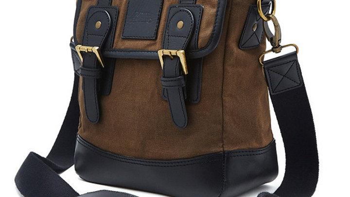Messenger Bag - Olive/Black