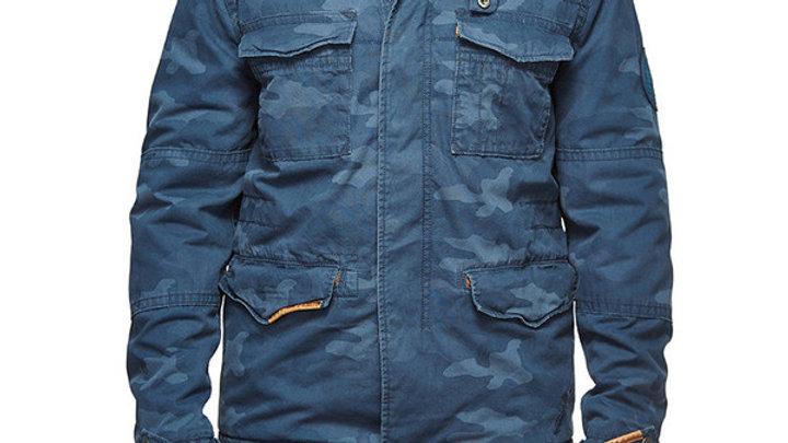 Classic Field Camo Jacket Blue