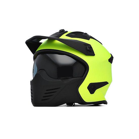 Spada Helmet Storm Matt Yellow