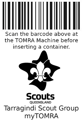 Tarragind Scout Group Donate myTOMRA.PNG