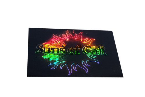 Sun of Cali Holographic Sticker