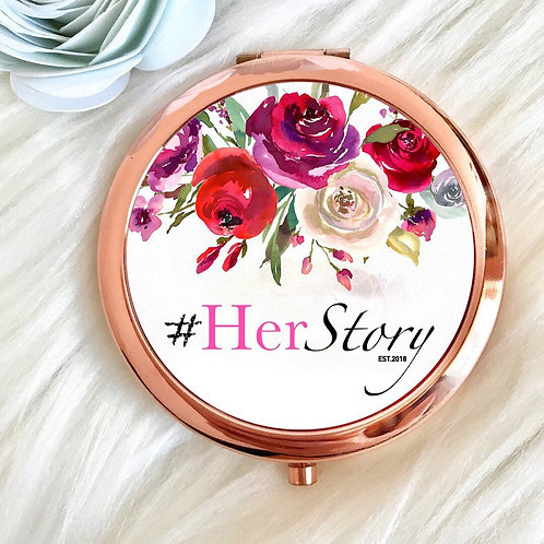 #HerStory Compact Mirror