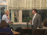 Michael Fabricant entertains at Malt Shovel evening